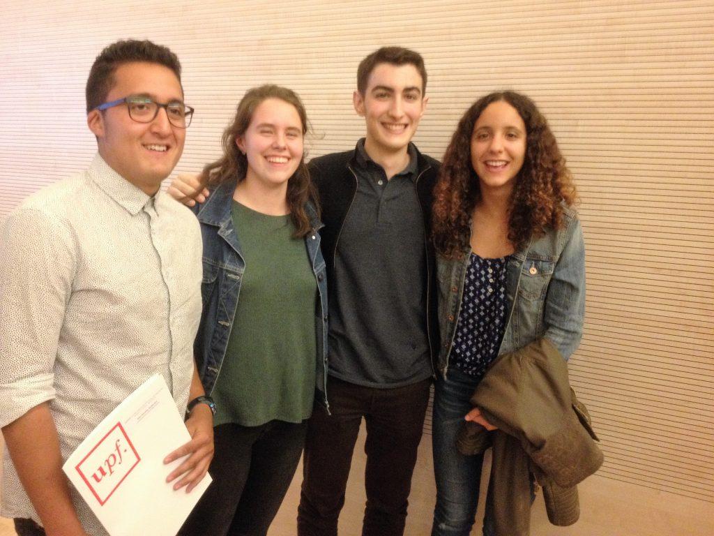 Finalistes concurs de traducció Batxillerat