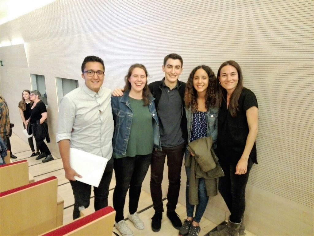 Finalistes concurs de traducció+professora alemany_12 de maig