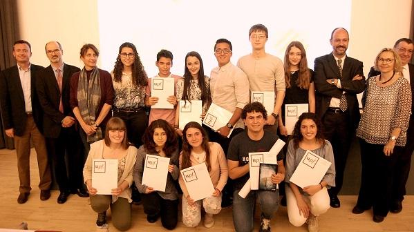 Foto premiats concurs traducció_12 de maig
