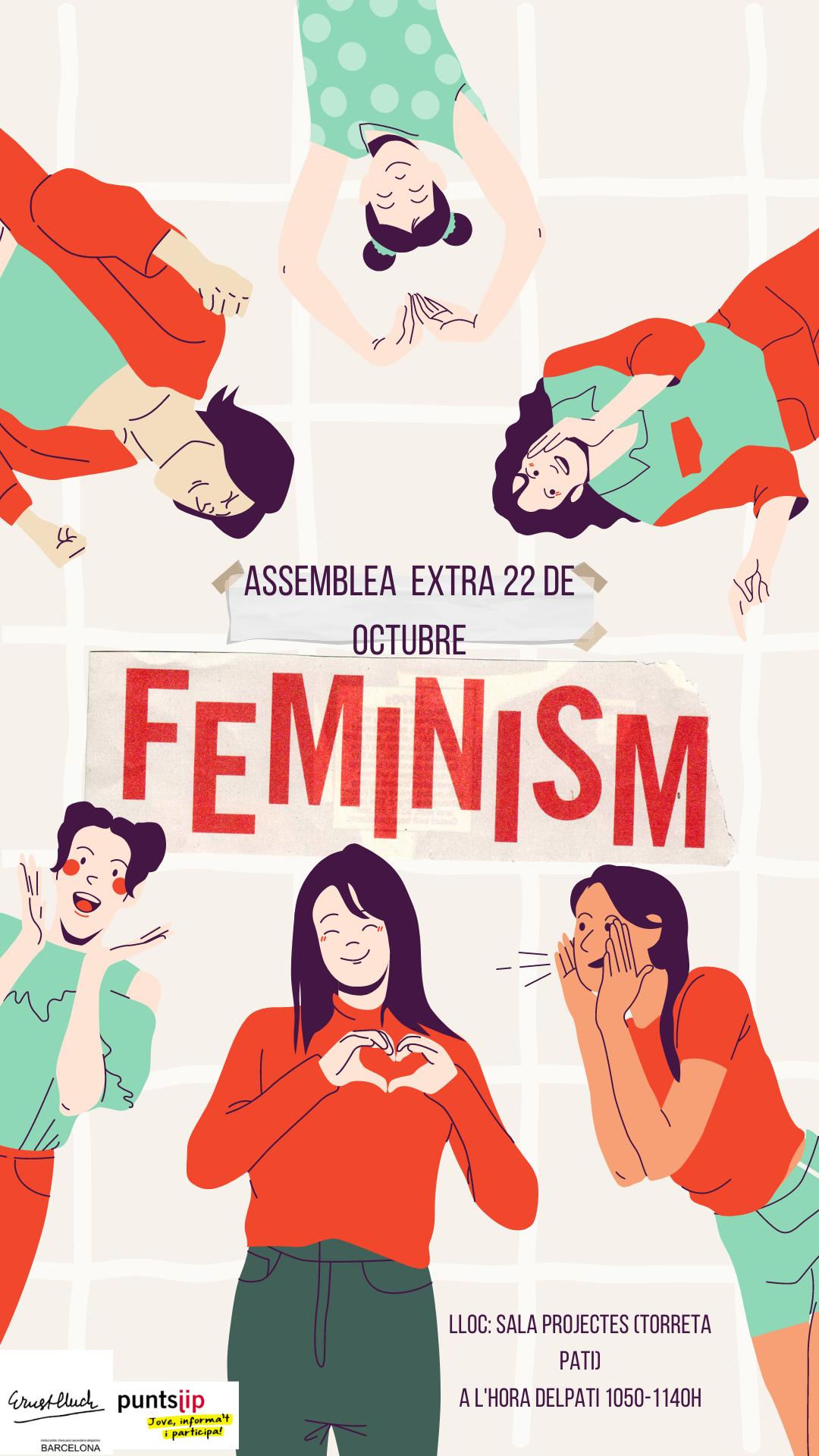 Feminism Illustration Flat Asia Girls Emotion Instagram Story (1)